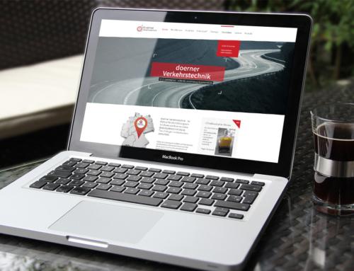 Webseite Doerner Verkehrstechnik